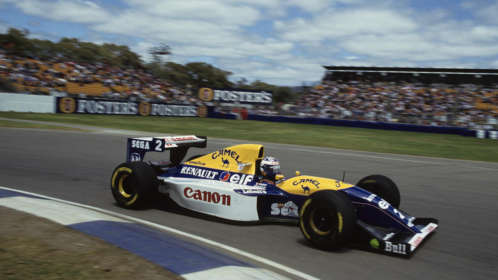 Alain Prost Australian GP 1993