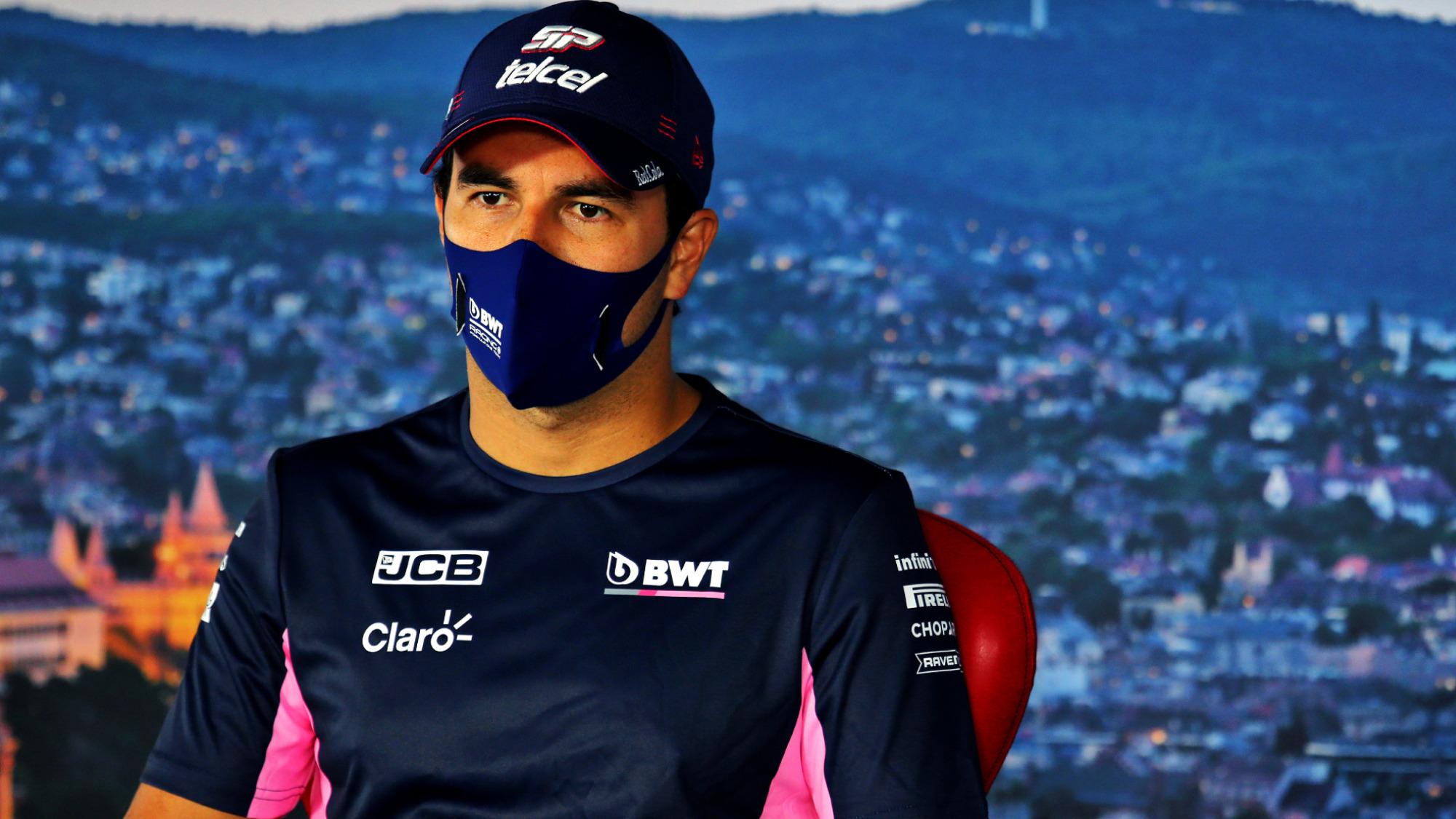 Sergio Perez, Racing Point, 2020 Hungarian GP