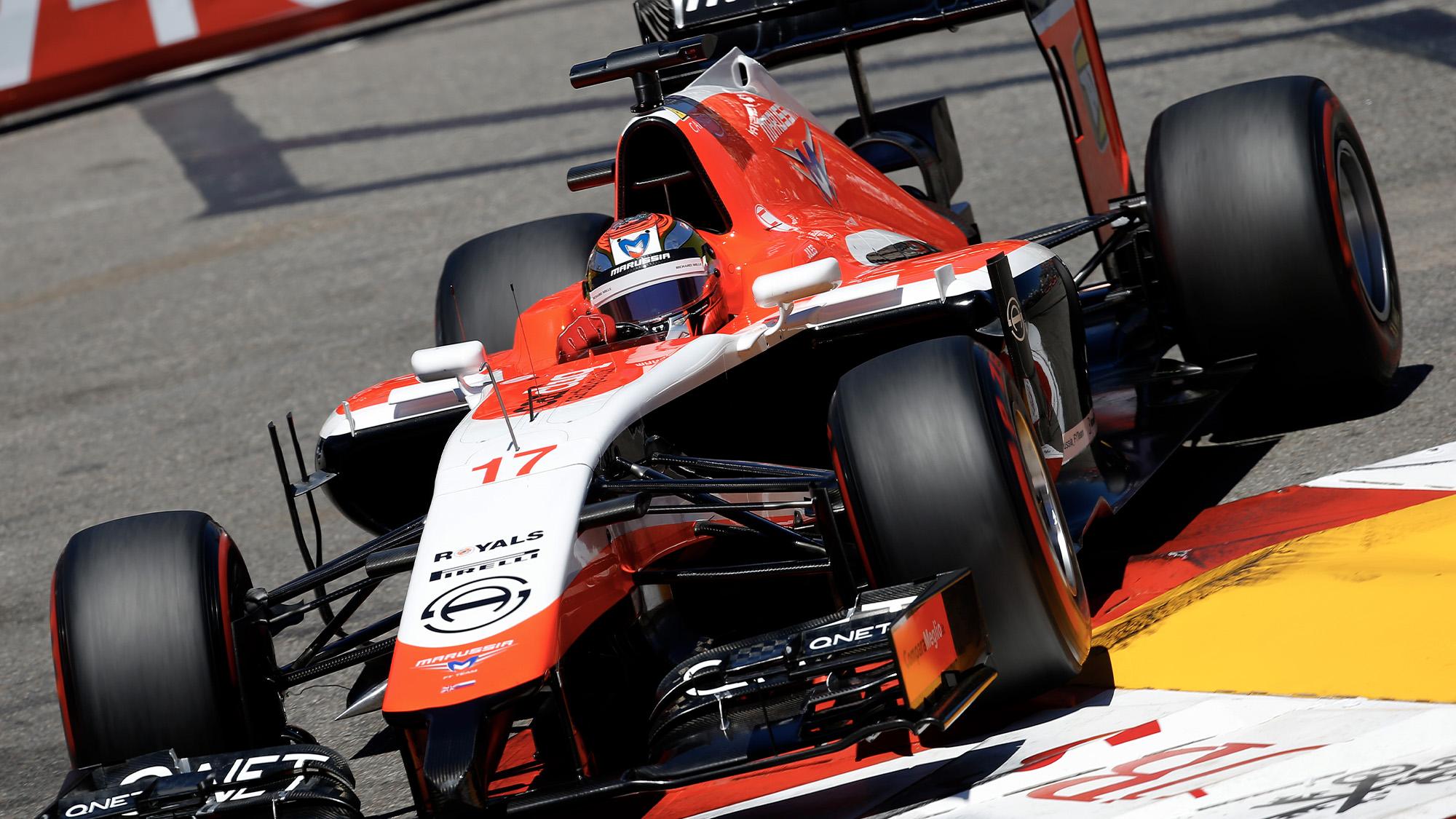 Jules Bianchi during the 2014 F1 Monaco Grand Prix