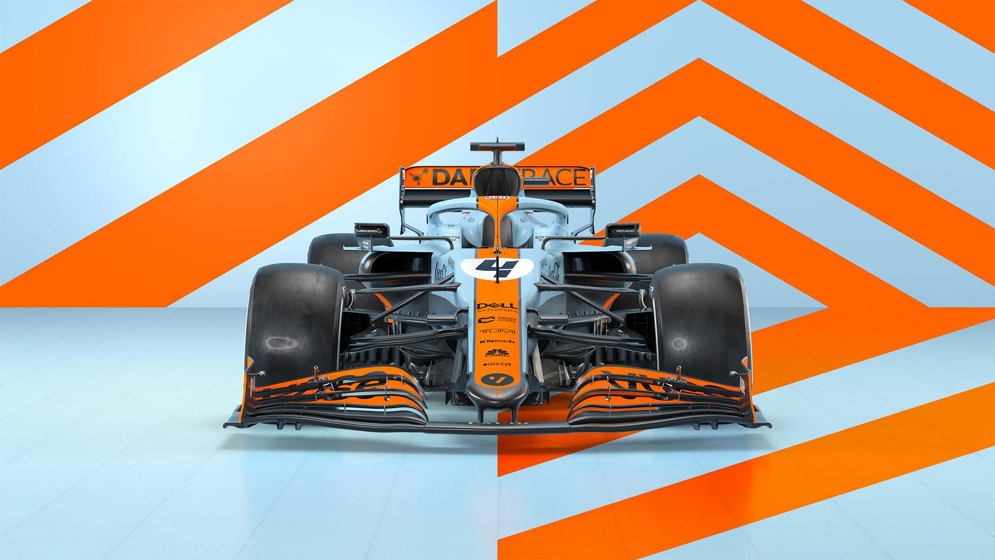 McLaren Gulf 1