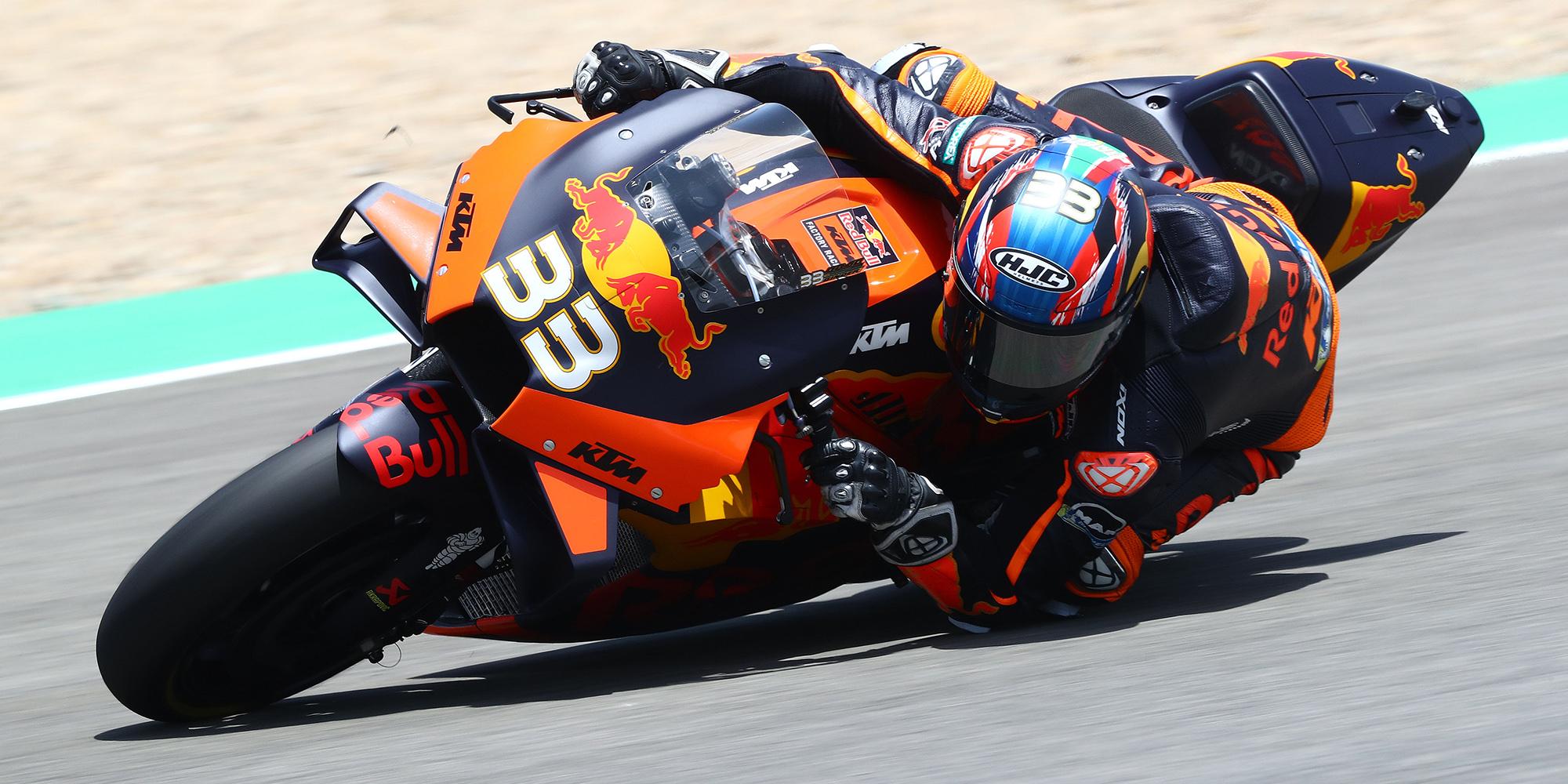 Brad Binder during the 2020 MotoGP Spanish Grand Prix