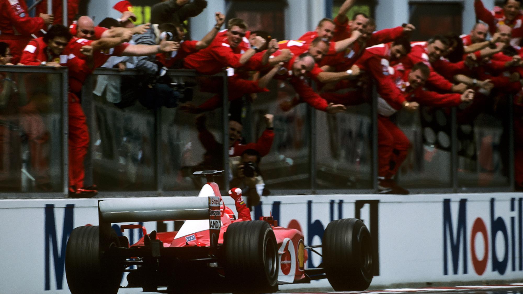 Michael Schumacher, 2002 French GP