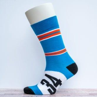 Product image for Bugatti Blue | Motoring Leg-Ends | Socks