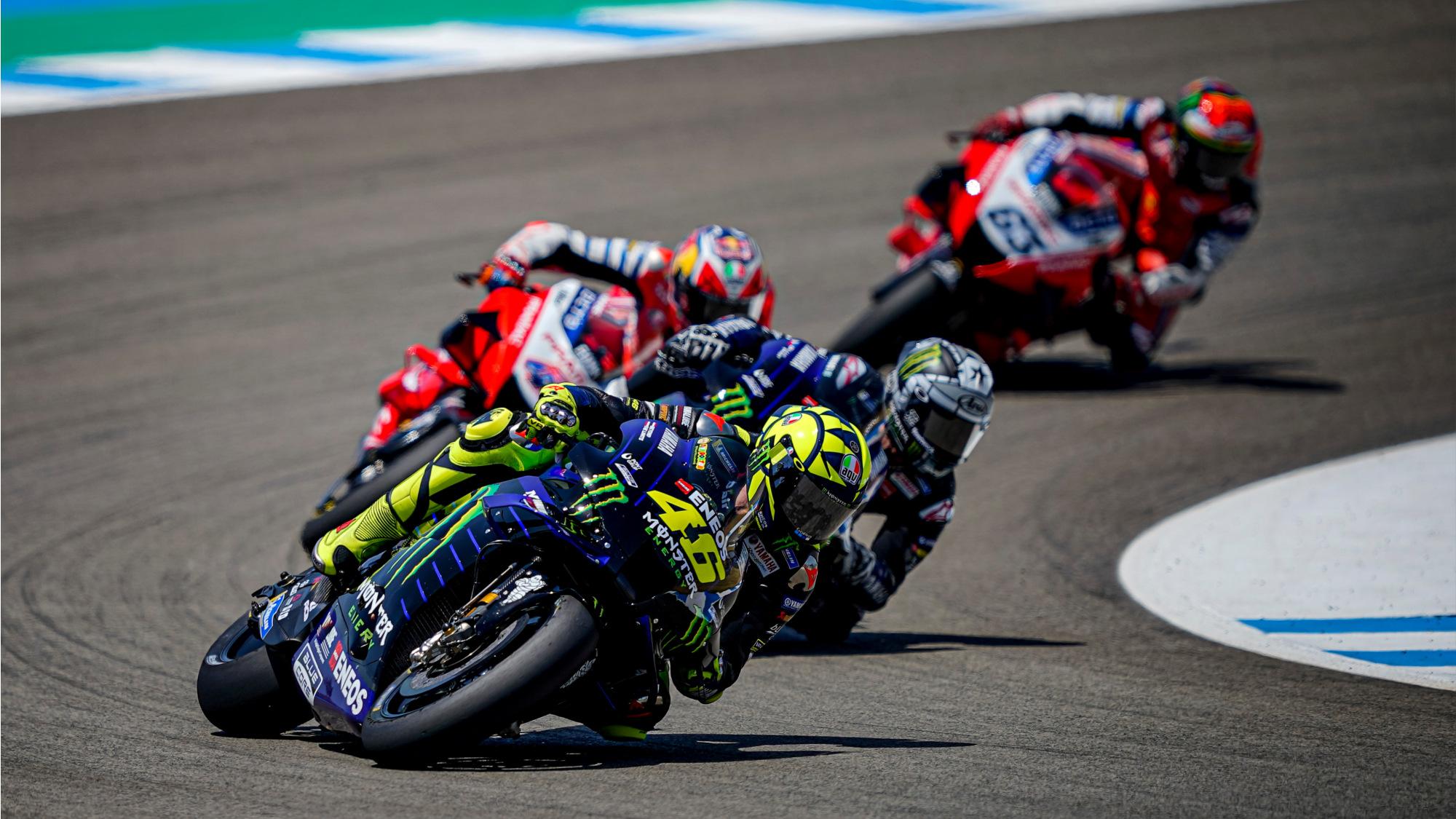 Valentino Rossi, MotoGP Jerez 2020