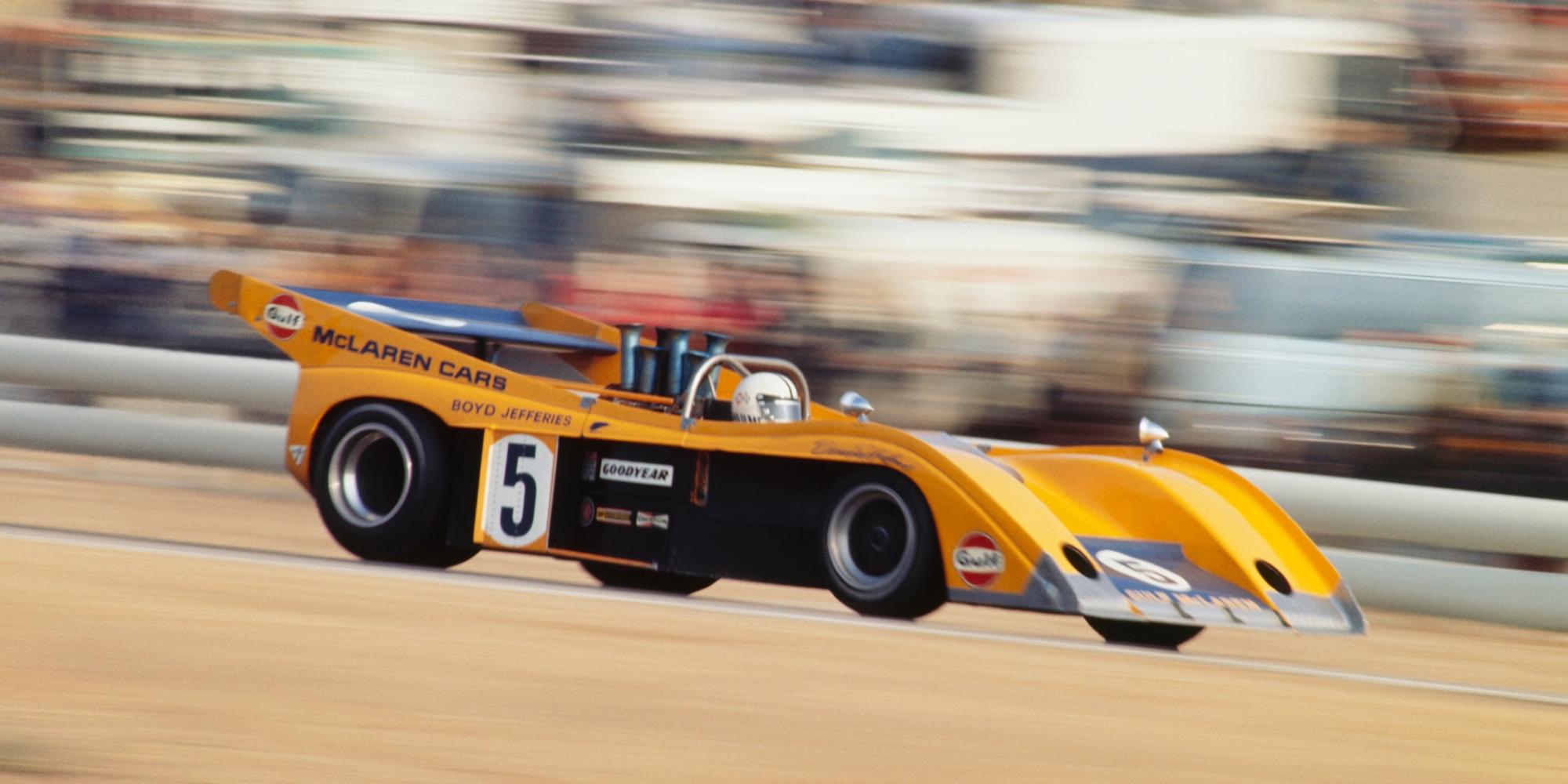 McLaren M20 CanAm car