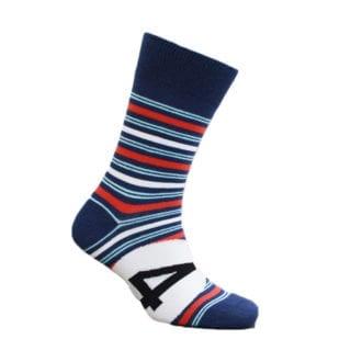 Product image for Racing Stripe - Martini | Motoring Leg-Ends | Socks