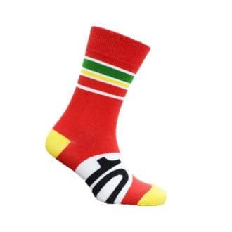 Product image for Italian Red | Motoring Leg-Ends | Socks