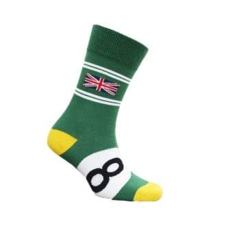 Product image for British Racing Green | Motoring Leg-Ends | Socks