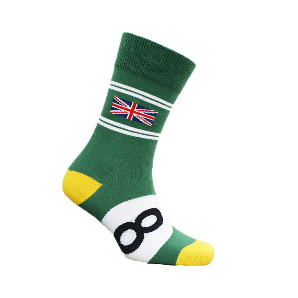 Product image for British Racing Green | Motoring Leg-Ends | Socks