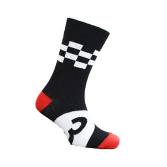 Product image for Chequered Flag | Motoring Leg-Ends | Socks