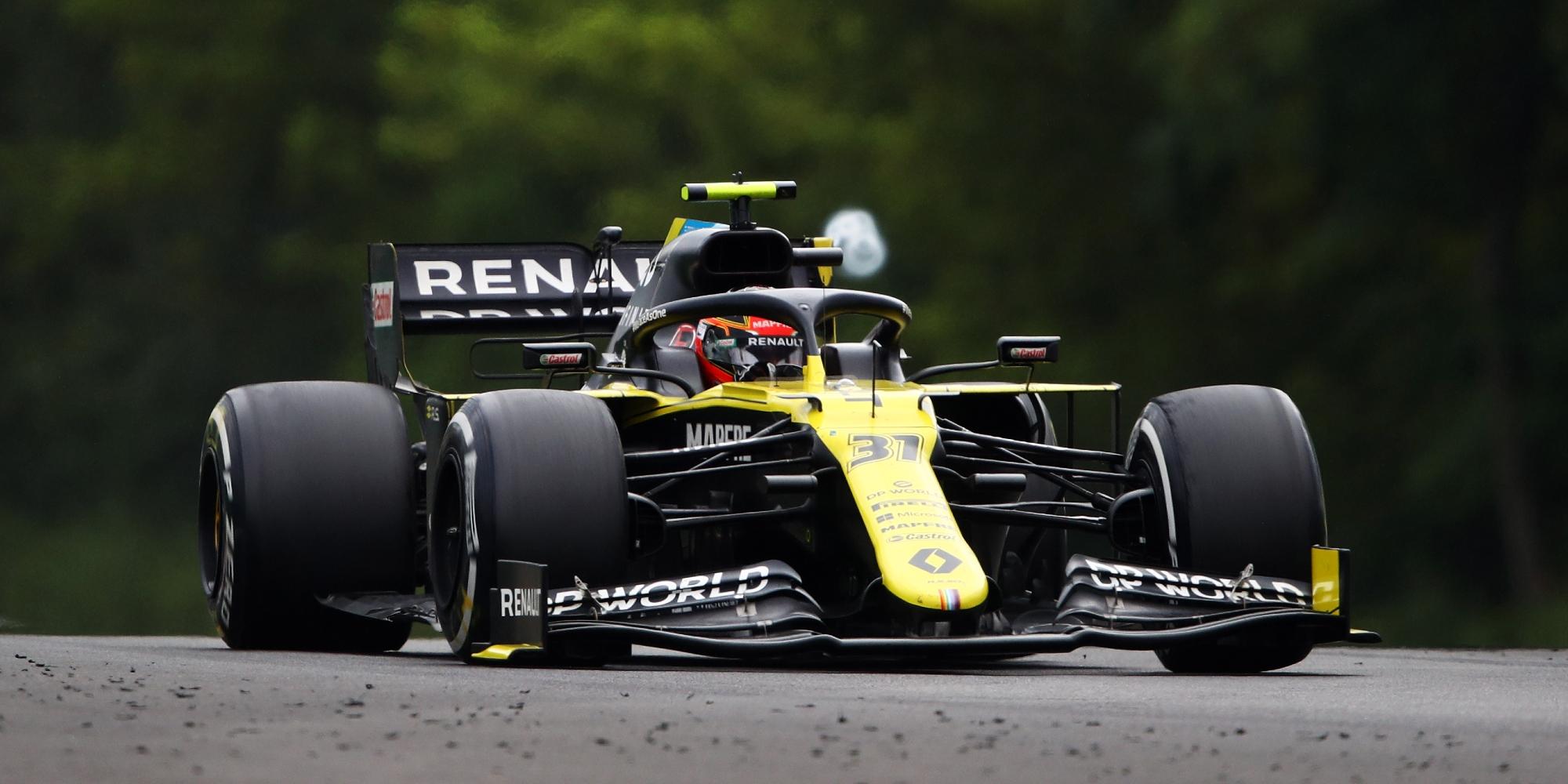 Esteban Ocon, 2020 Hungarian GP