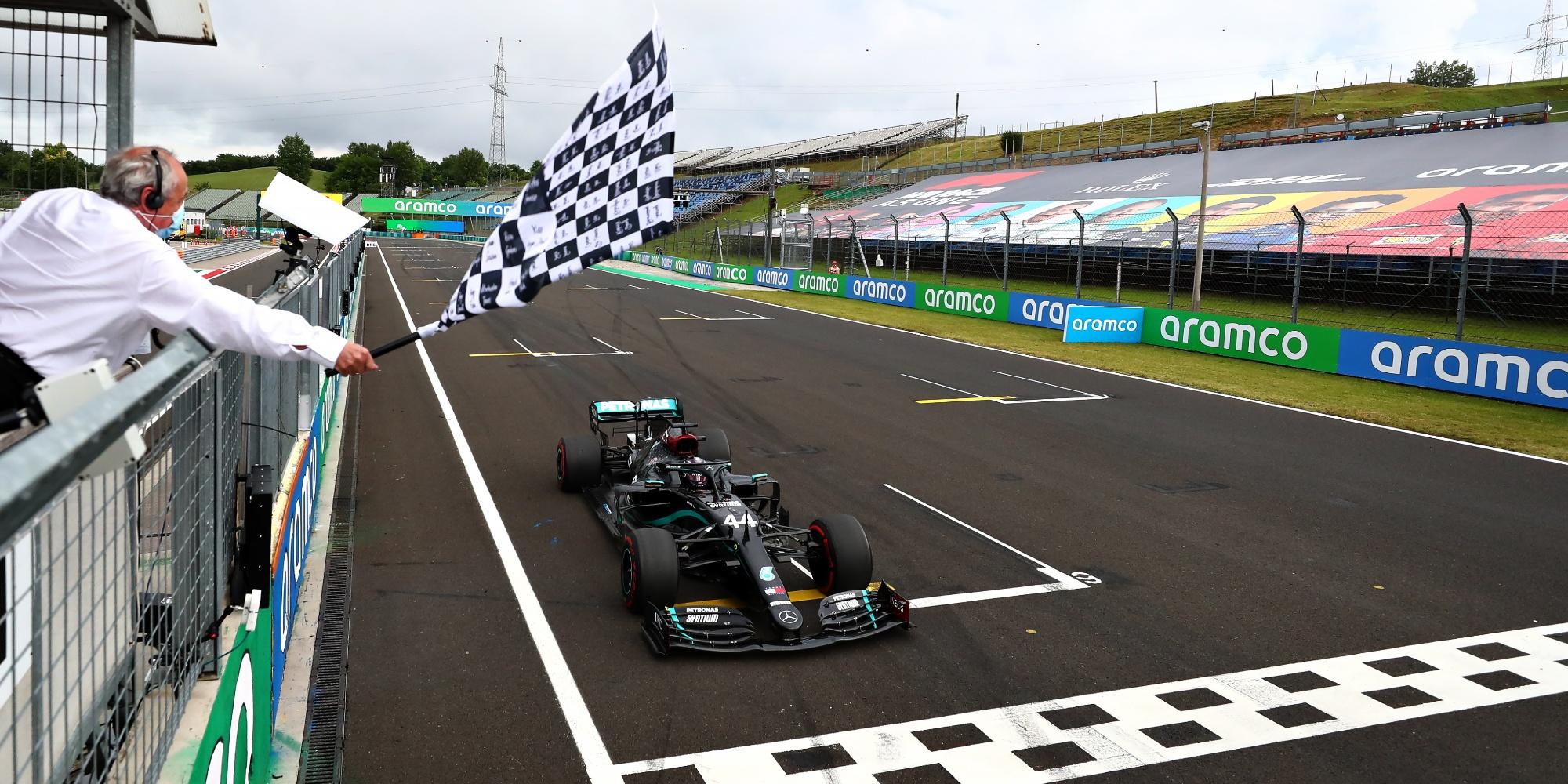 Lewis Hamilton, 2020 Hungarian GP