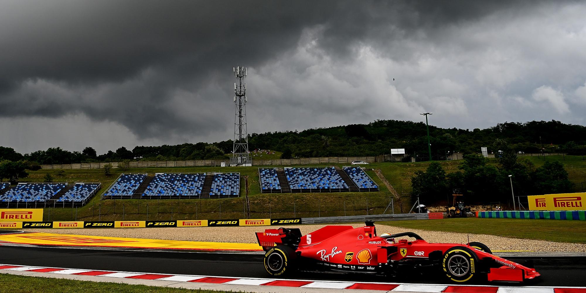 Sebastian Vettel, 2020 Hungarian GP