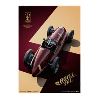 Product image for Maserati 8CTF - The Boyle Special - 1940 Indianapolis 500 | Automobilist | Collector's Edition poster