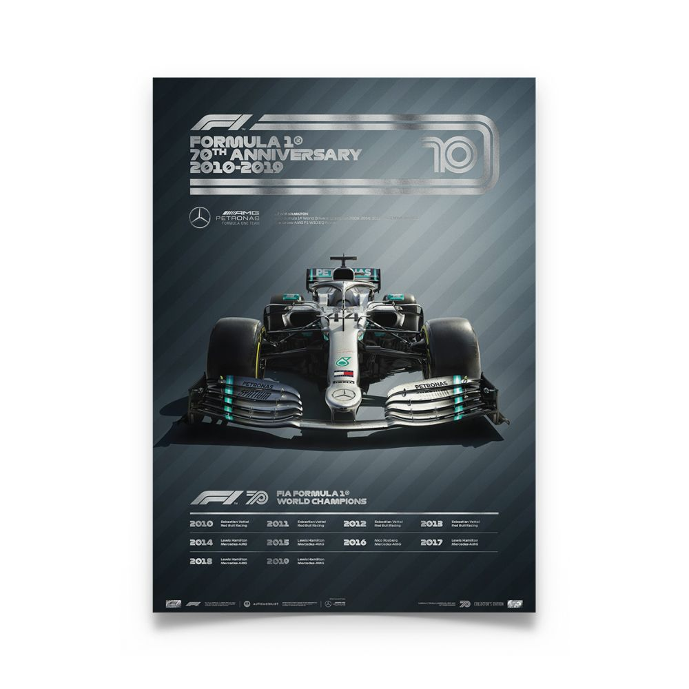 Product image for Formula 1® Decades – 2010s Mercedes | Collector's Edition