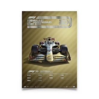Product image for Formula 1® Decades – 2020s - The Future Lies Ahead | Automobilist | Collector's Edition poster