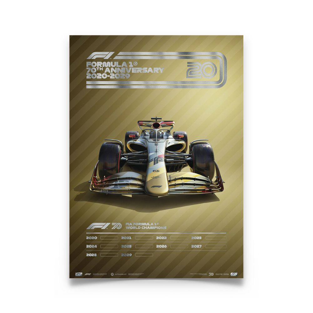 Product image for Formula 1® Decades – 2020s The Future Lies Ahead | Collector's Edition