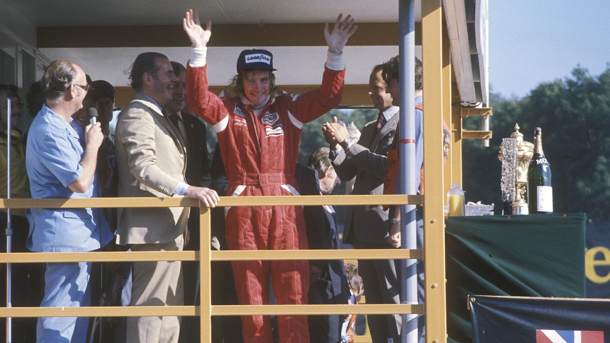 James Hunt, 1976 British Grand Prix