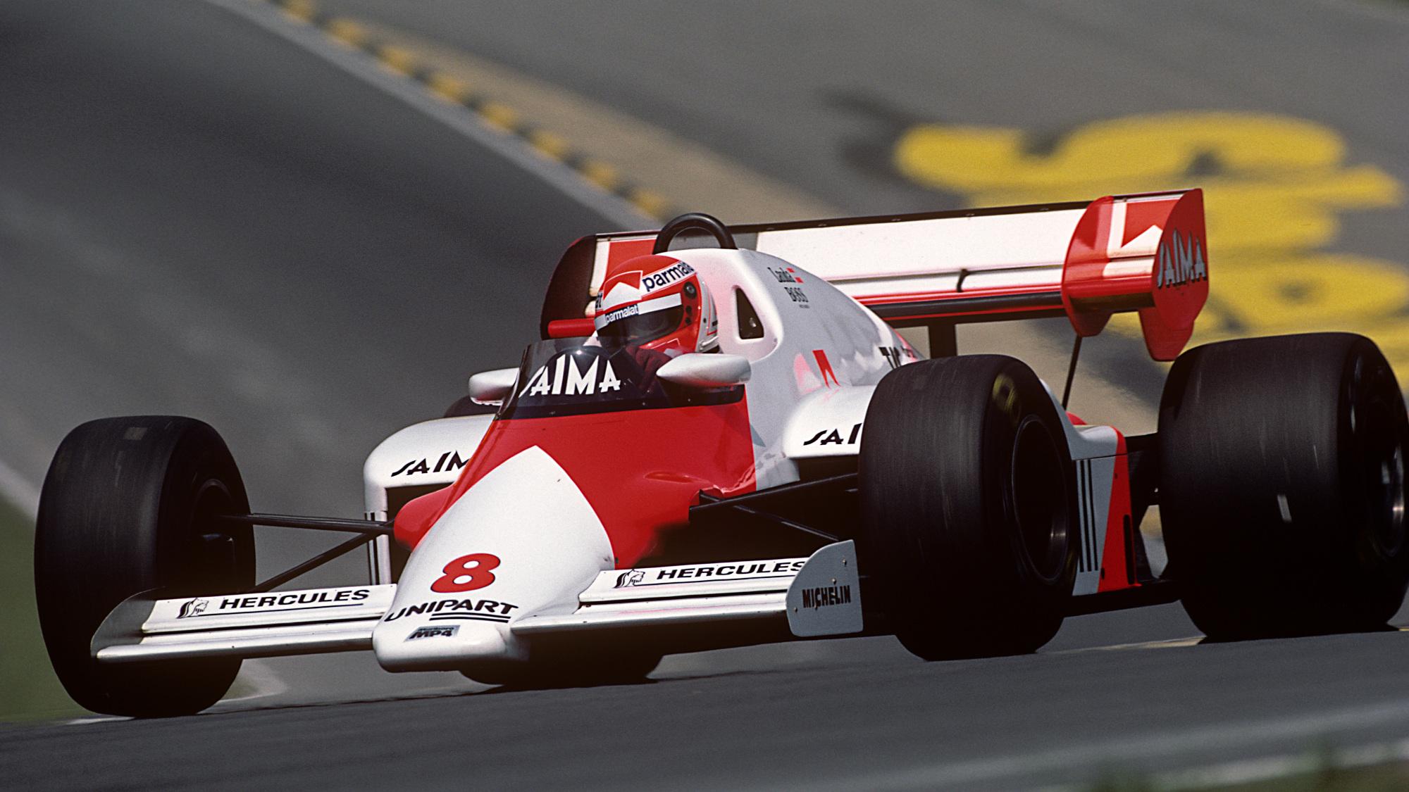 Niki Lauda, 1984 British GP