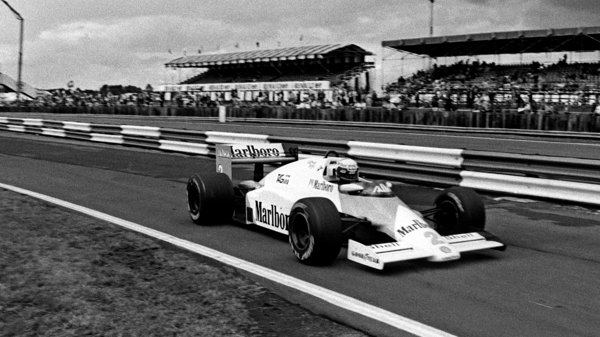 Alain Prost, 1985 British GP