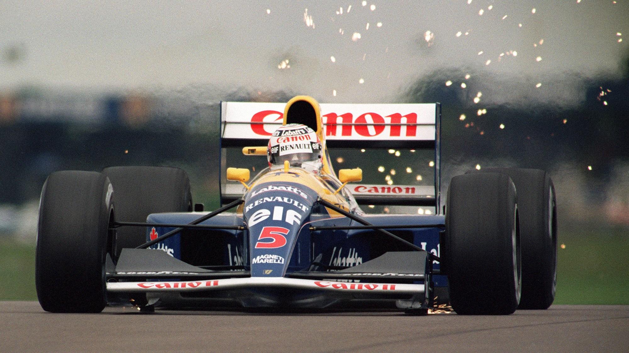 Nigel Mansell, 1991 British GP