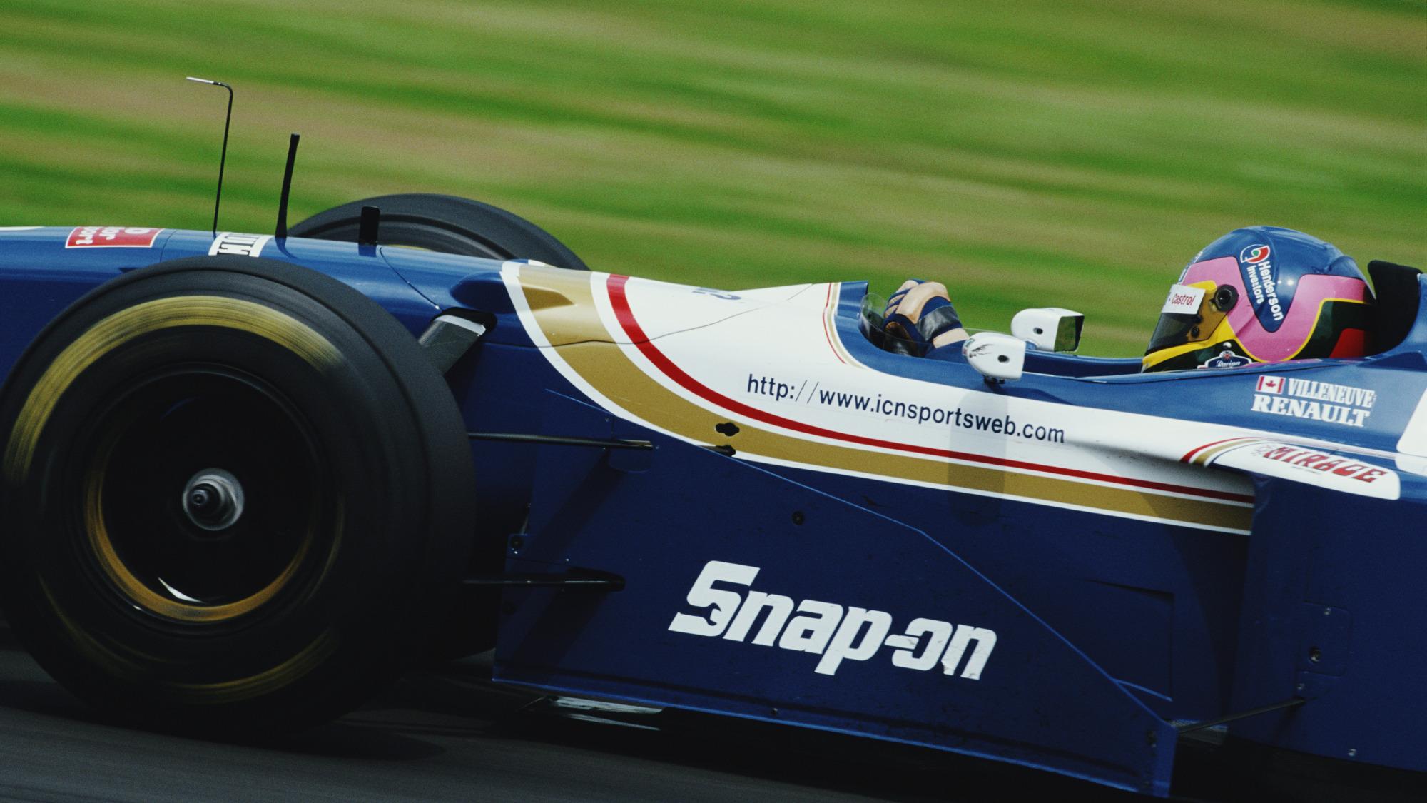 Jacques Villeneuve, 1997 British GP