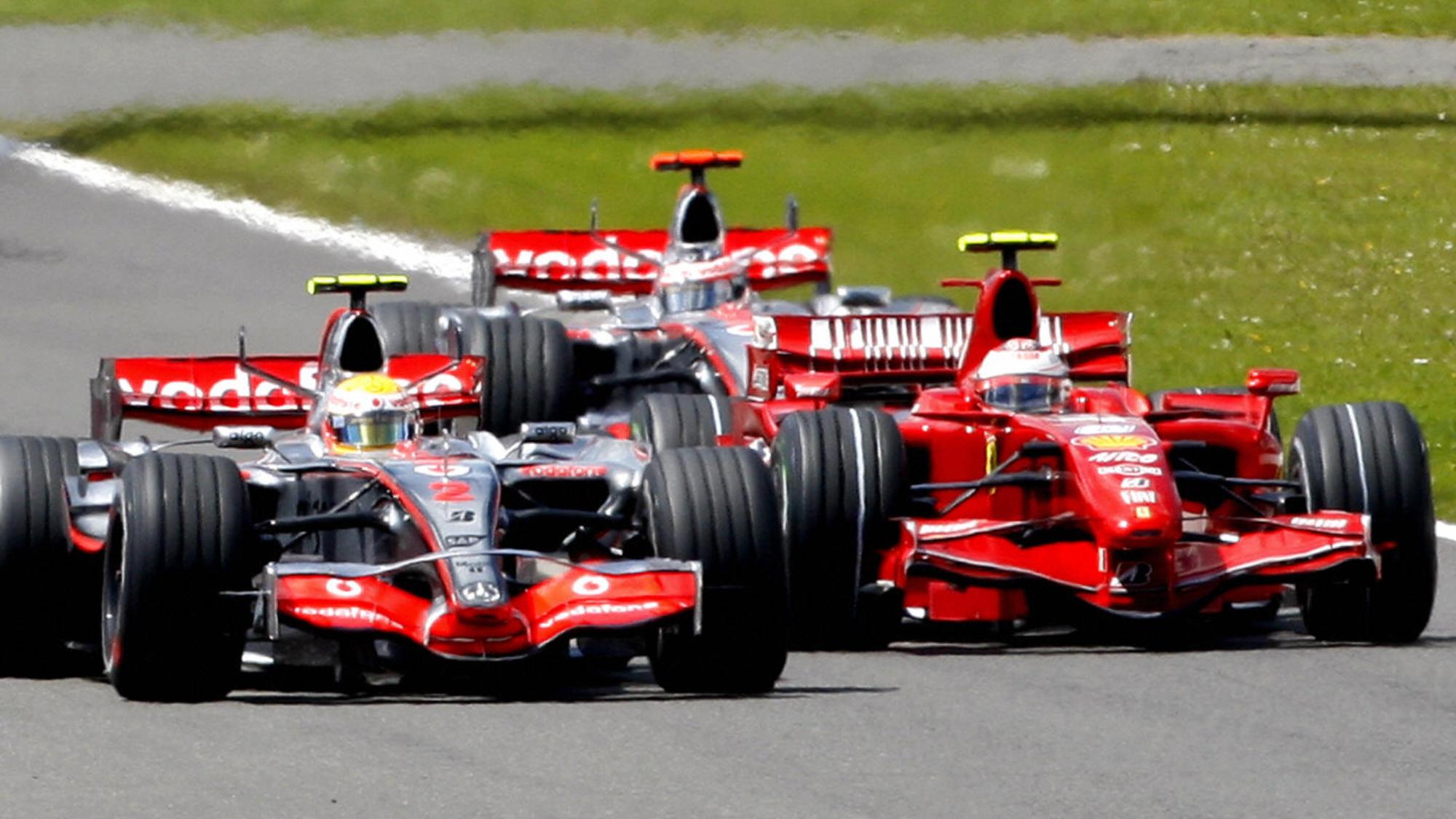 2007 British GP, Kimi Raikkonen
