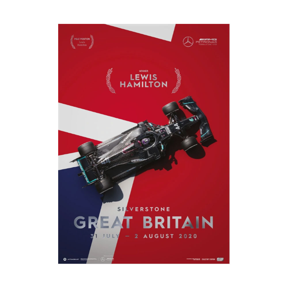 Product image for Mercedes-AMG Petronas F1 Team - Great Britain 2020 - Lewis Hamilton | Collector's Edition
