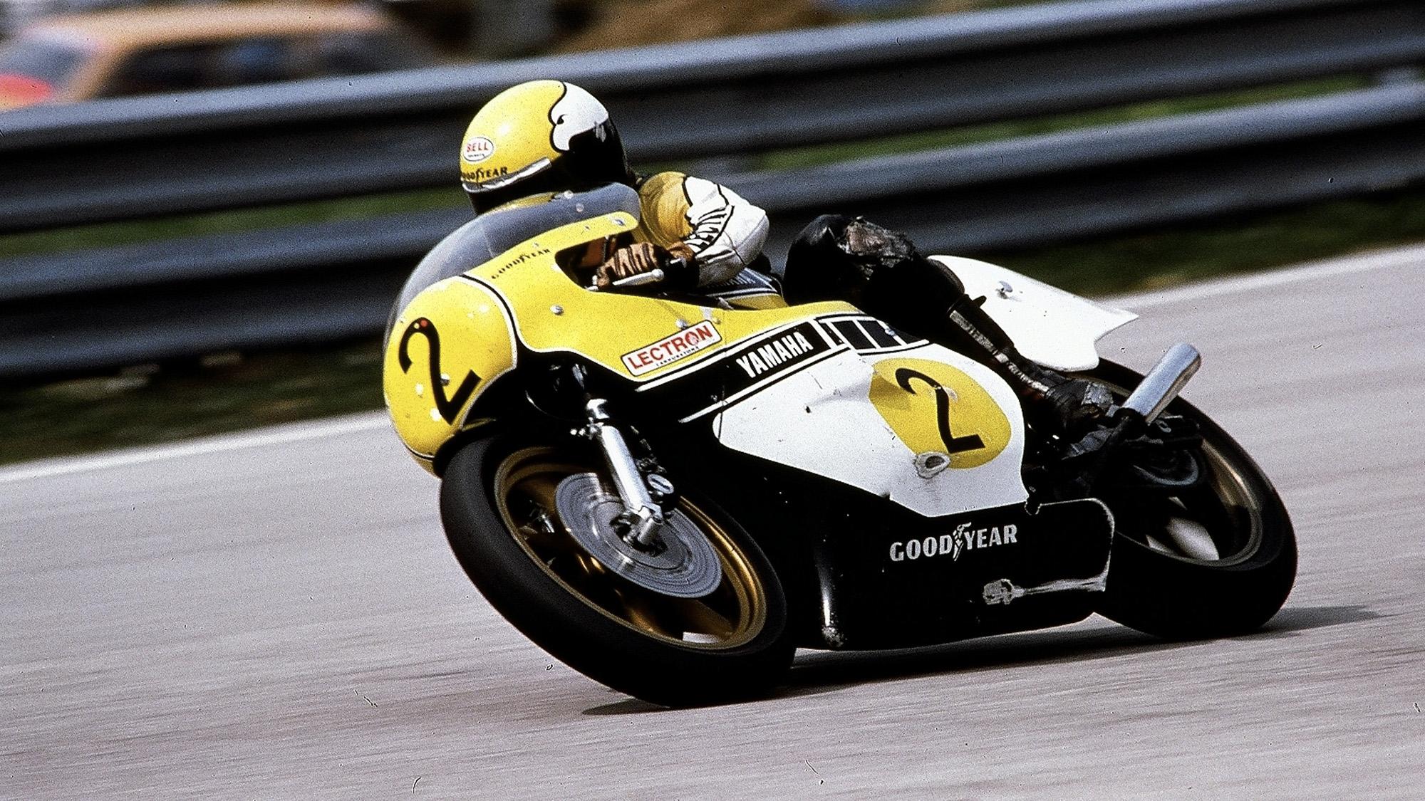 Kenny Roberts in 1978 on a Yamaha USA bike
