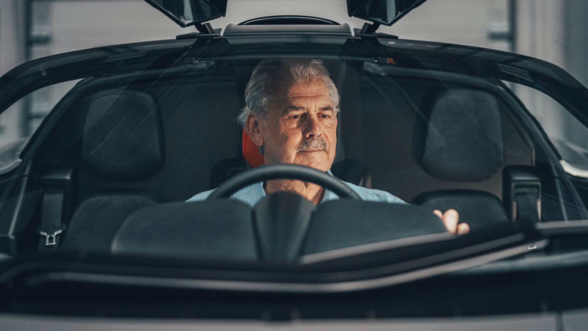 Gordon Murray in the T50
