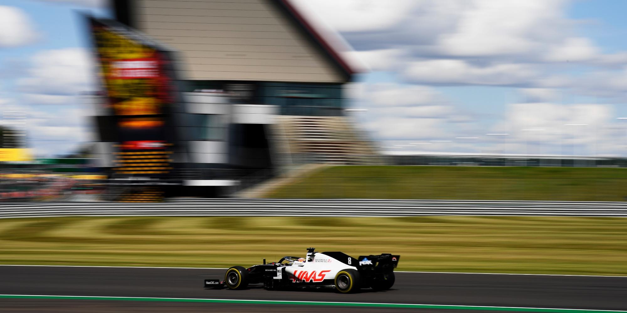 2020 British GP, Romain Grosjean