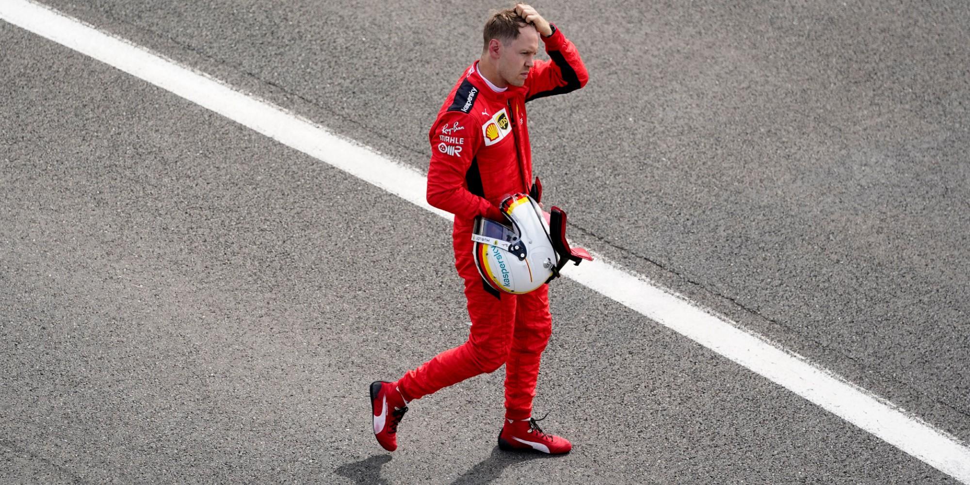 2020 British GP, Sebastian Vettel