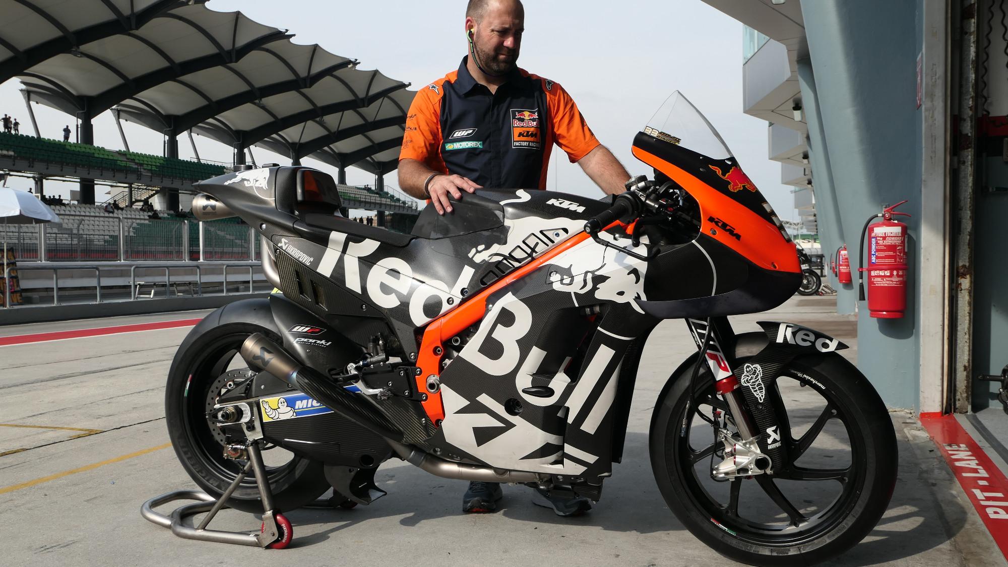 Brad Binder's KTM RC16
