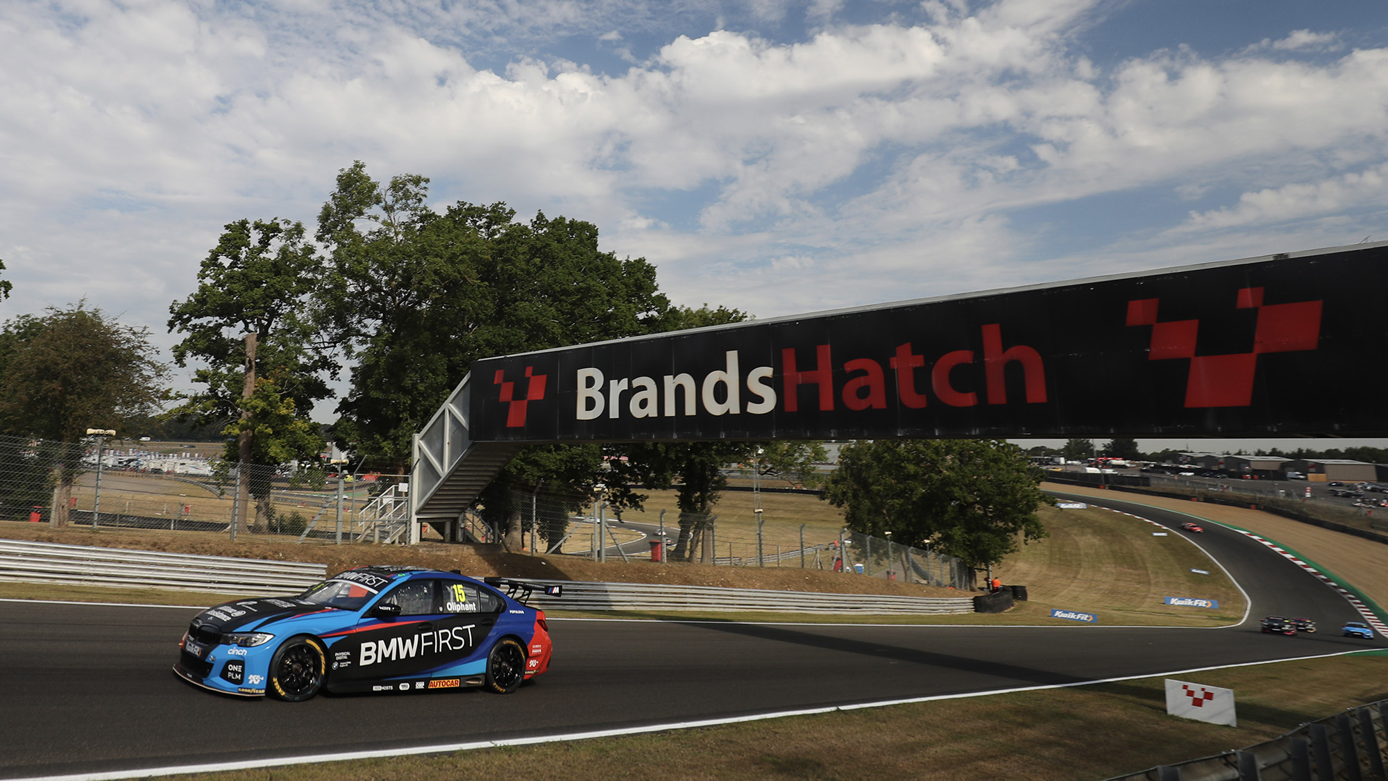 Tom Oliphant during the 2020 Brands Hatch GP BTCC meeting