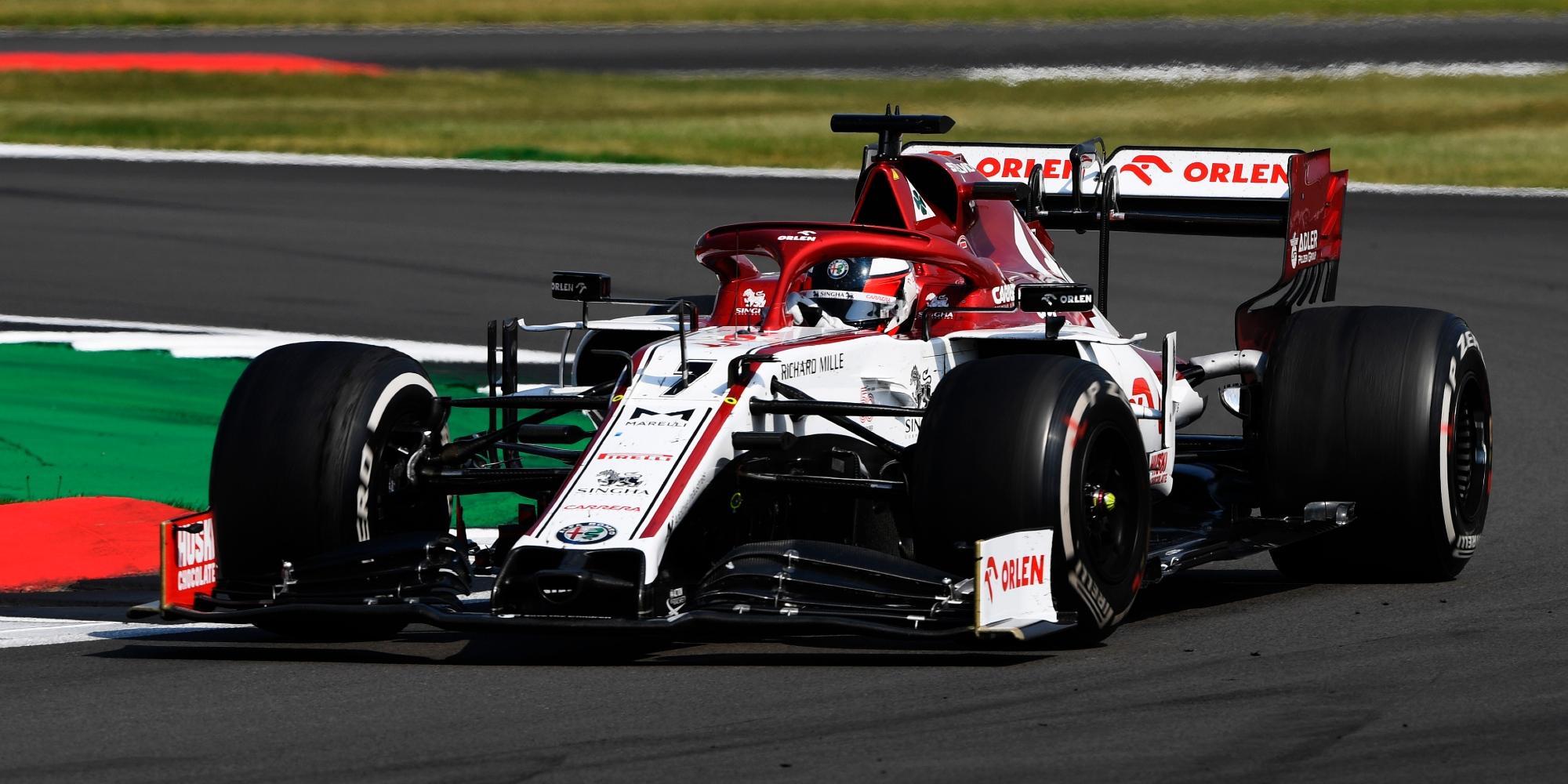Kimi Raikkonen, 2020 70th Anniversary GP