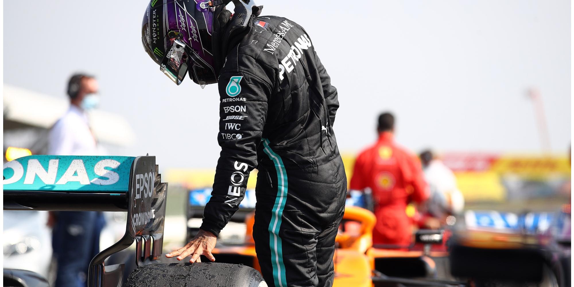 Lewis Hamilton, 2020 70th Anniversary GP