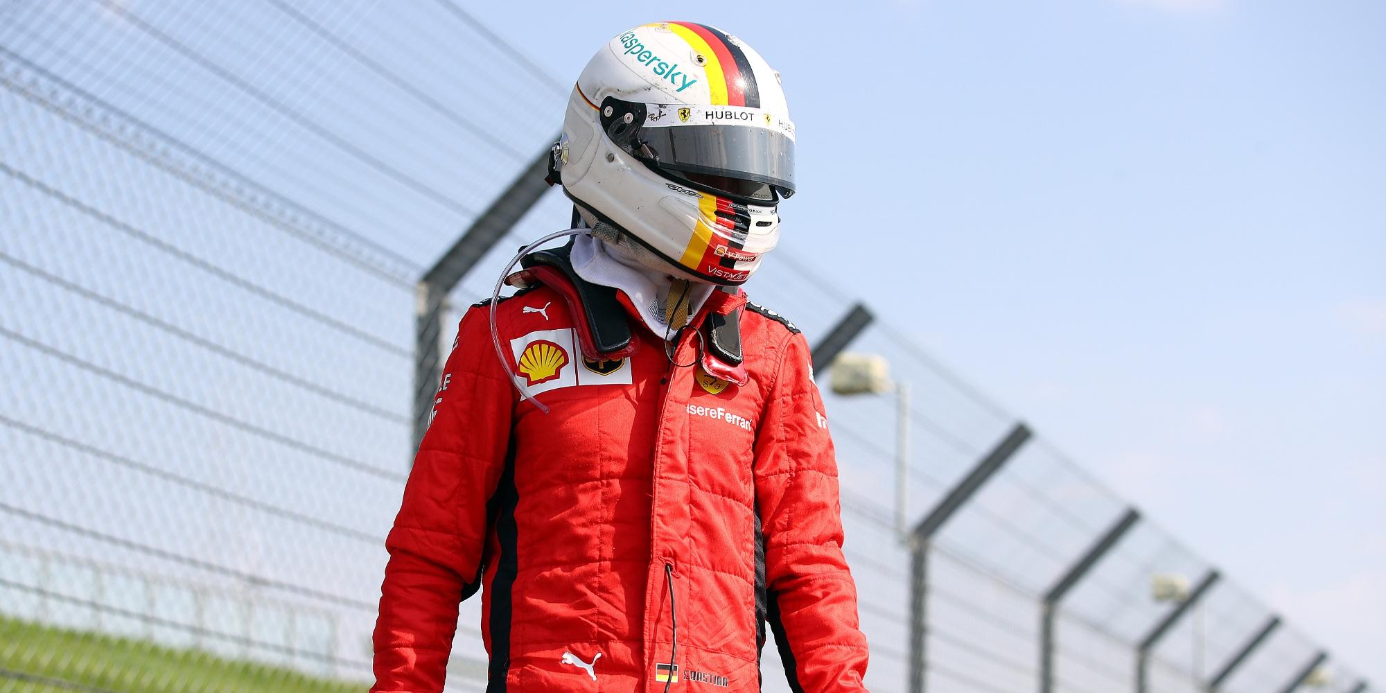 Sebastian Vettel, 2020 70th Anniversary GP