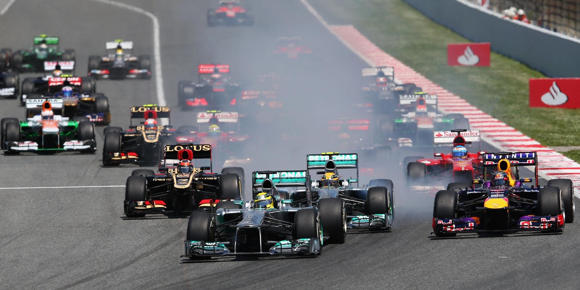 2013 Spanish Grand Prix start