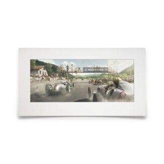 Product image for Stoned To Life   Luigi Fagioli - Mercedes - 1935   Automobilist   Fine Art