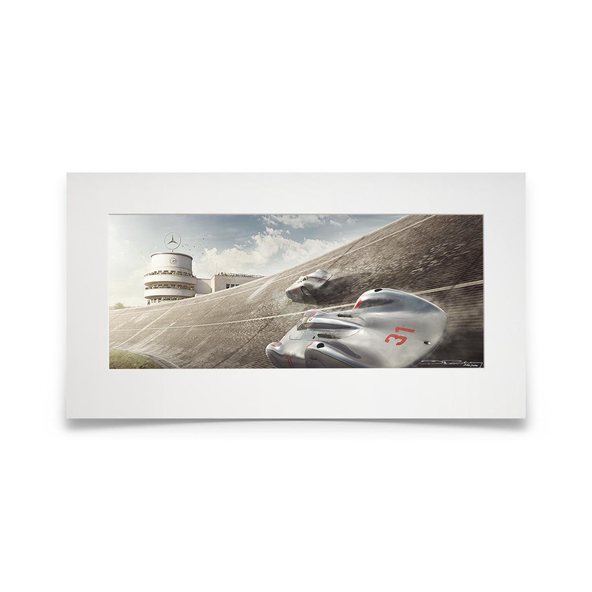 Product image for Steeper, Stronger, Faster   Bernd Rosemeyer - Auto Union - 1937   Automobilist   Fine Art