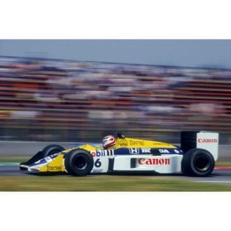 Product image for 1986 Piquet At Mexico City   Getty Images   Premium print