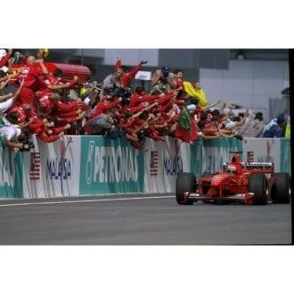 Product image for 1999 Eddie Irvine | Getty Images | Premium print