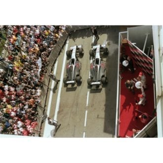 Product image for 1998 Double McLaren Victory   Getty Images   Premium print