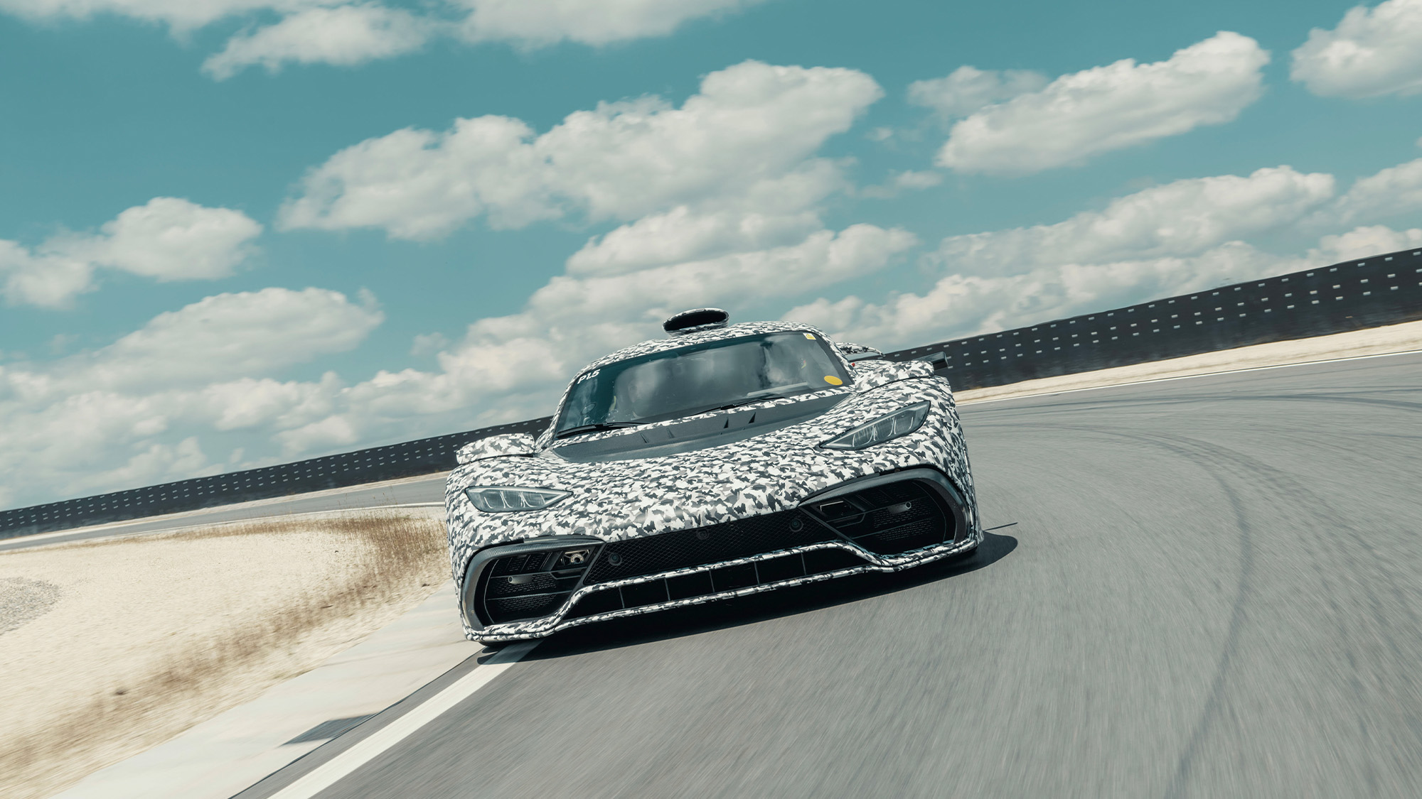 Mercedes AMG Project One hypercar in pre-production testing in 2020