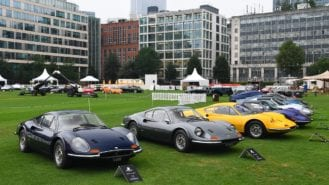 London Concours opens as first UK car show since lockdown
