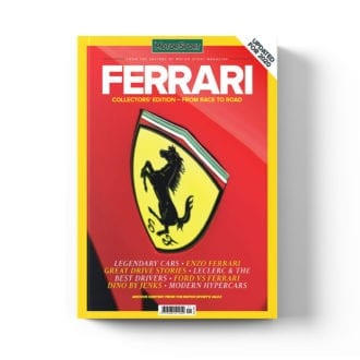 Product image for Ferrari - From Race to Road | Motor Sport Magazine | Collector's Edition Bookazine