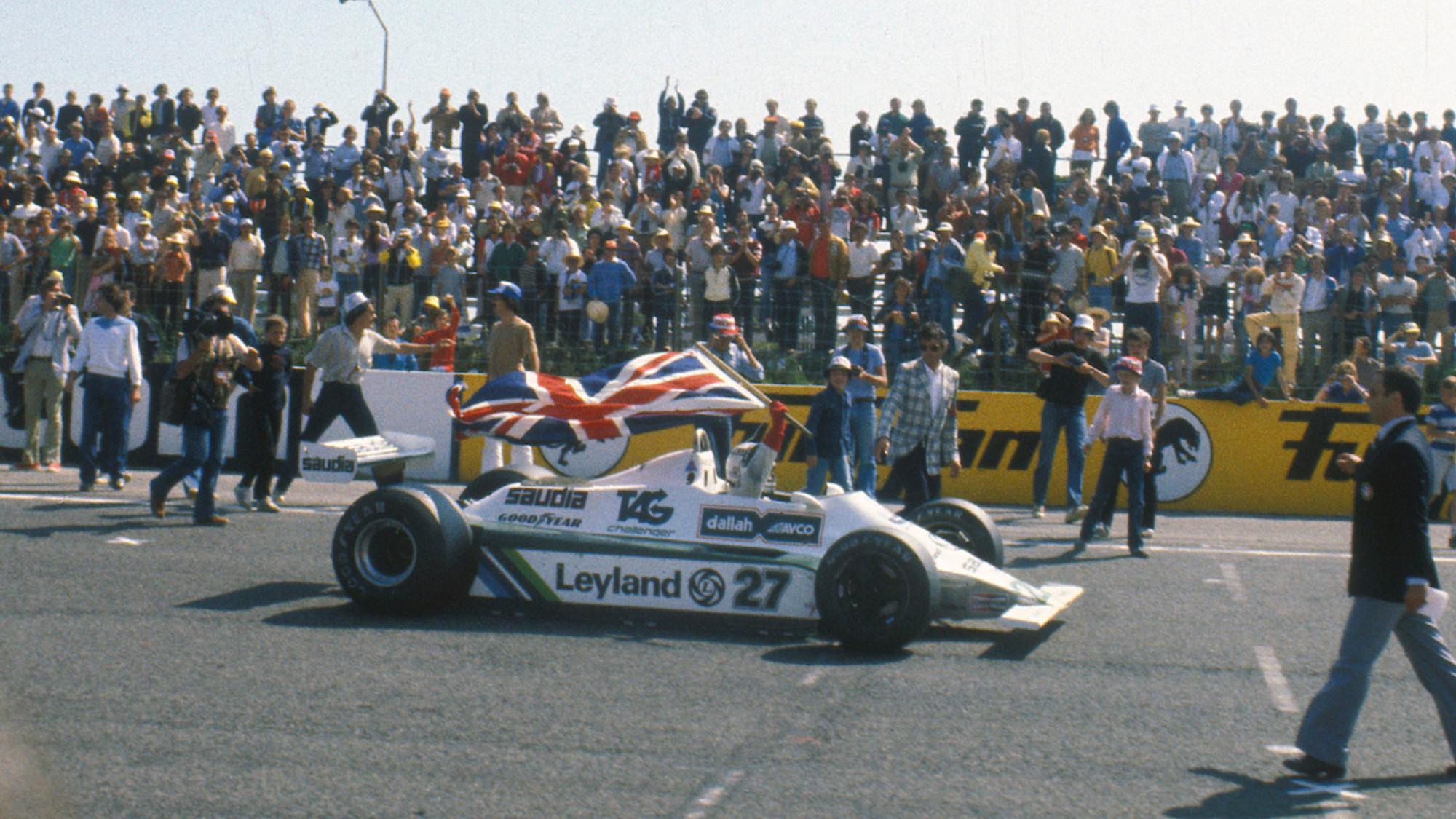 Alan Jones, Williams 1980