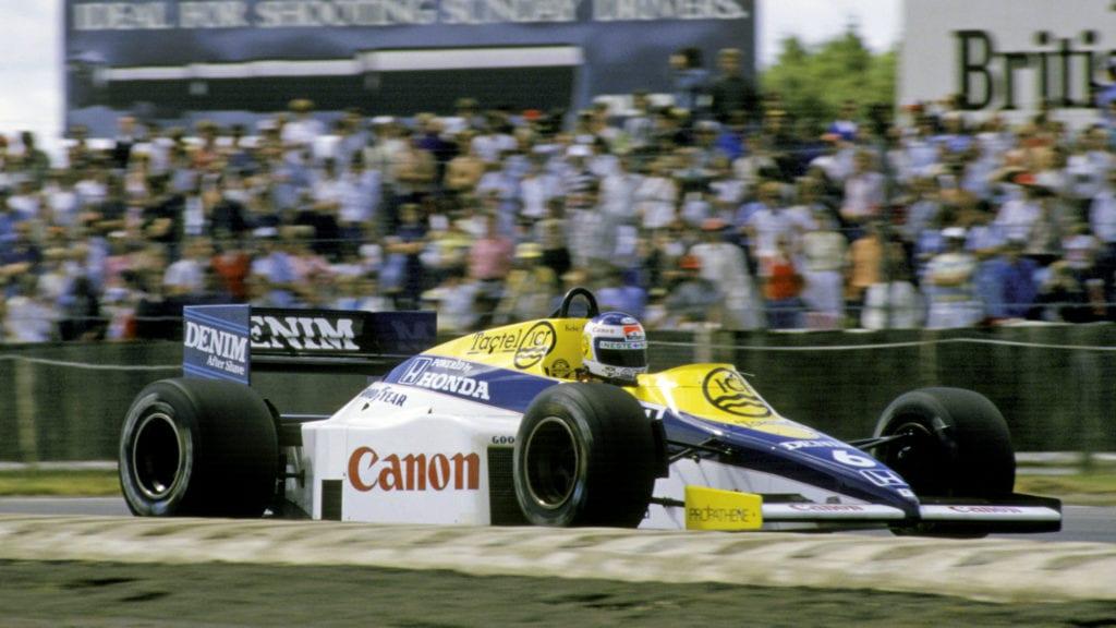 Keke Rosberg, 1985 British GP