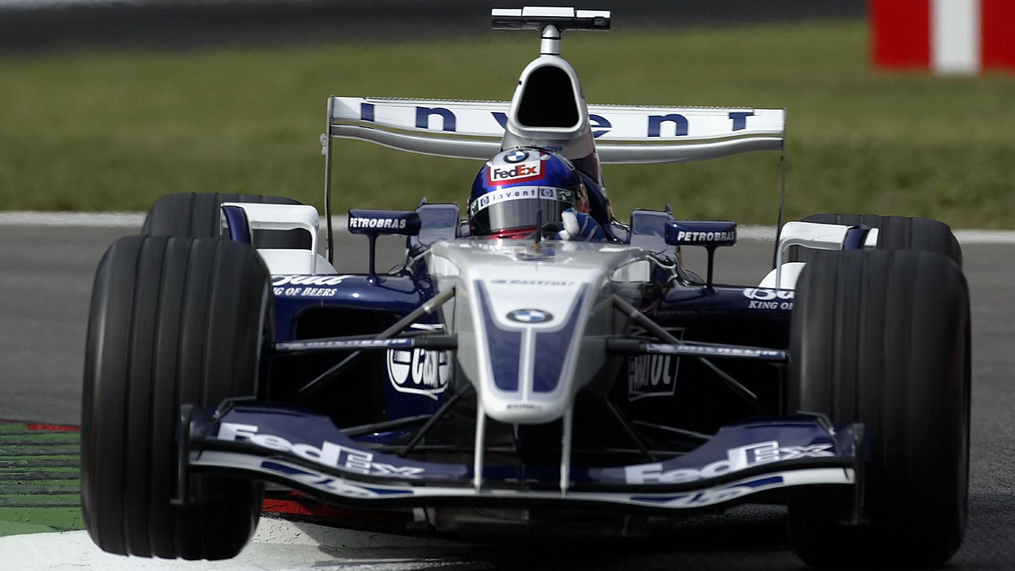 Juan Pablo Montoya, 2003 Italian GP