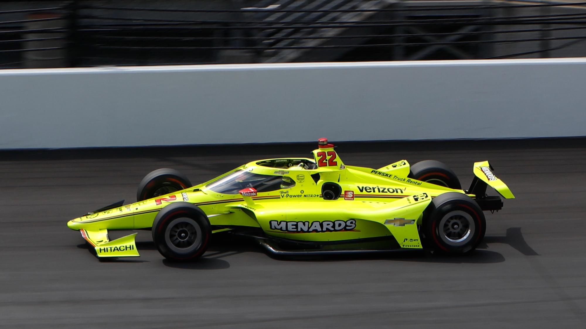 Simon Pagenaud, 2020 Indy 500